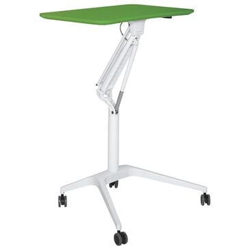 Unique Furniture 200 Collection Adjustable Height Stand Up Workpad in Green, , large