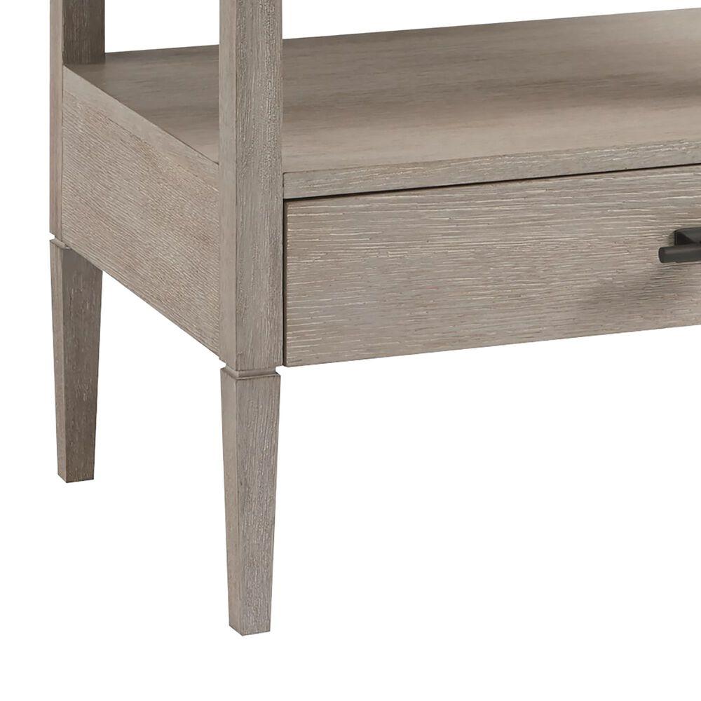 Furniture Worldwide Midtown 2 Drawer Nightstand in Flannel, , large