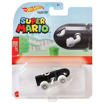 Hot Wheels Hot Wheels Super Mario Character Car Bullet Bill, , large