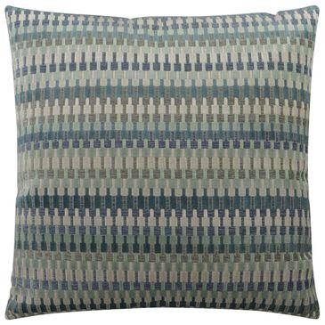 "D.V.Kap Inc 24"" Feather Down Decorative Throw Pillow in Lucas-Aegean, , large"