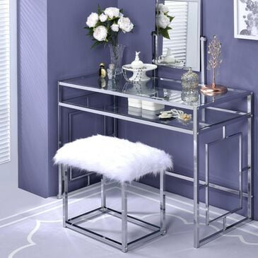 Gunnison Co. Carenze II Vanity Set in Chrome, , large
