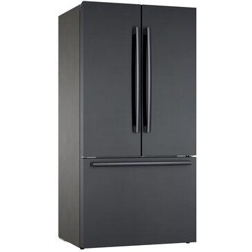 "Bosch 36"" French Door Bottom Freezer in Black Stainless Steel , , large"