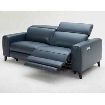 Interlochen Leather Power Reclining Loveseat in Impression Dark Blue , , large