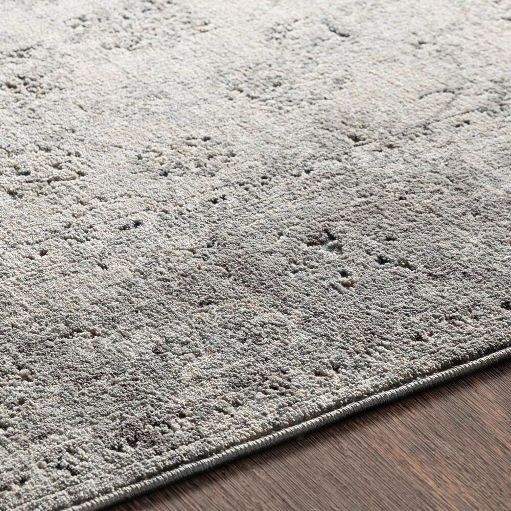 """Surya Presidential PDT-2310 3'3"""" x 5' Charcoal, Ivory and Blue Area Rug, , large"""