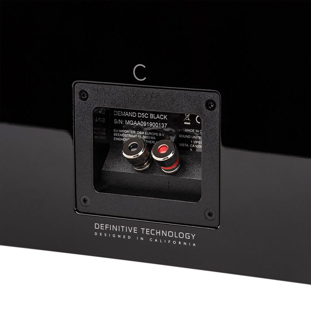 Polk Demand Series High-Performance Center Channel Speaker in Piano Black, , large