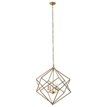"Maple and Jade 28"" x 30"" Pendant Light in Gold, , large"