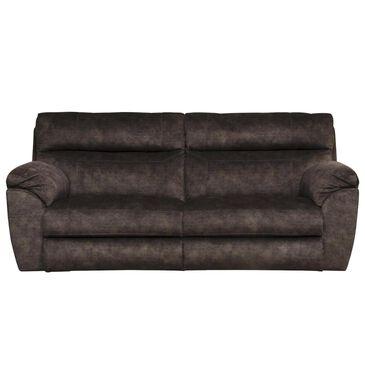 Portland Industries Sedona Power Headrest Lay Flat Reclining Sofa in Mocha, , large