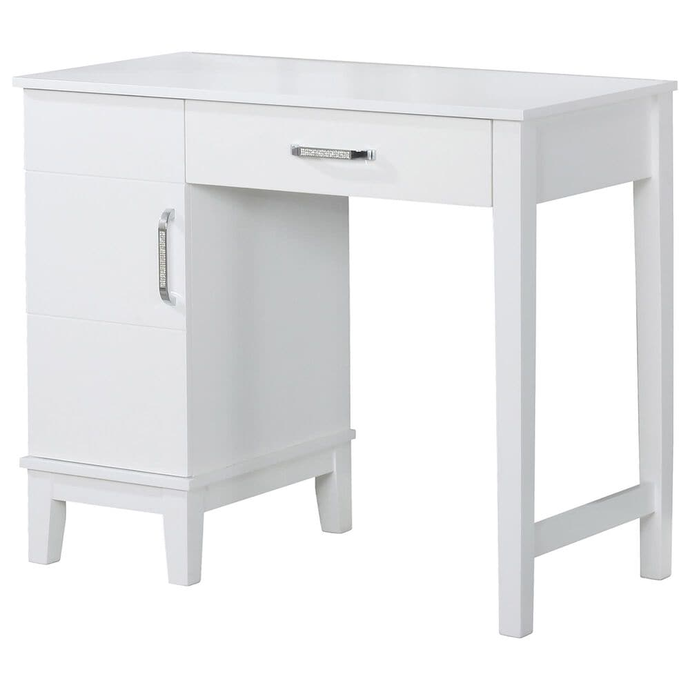 Pacific Landing Vanity 3 Piece Set with LED Lights in White, , large