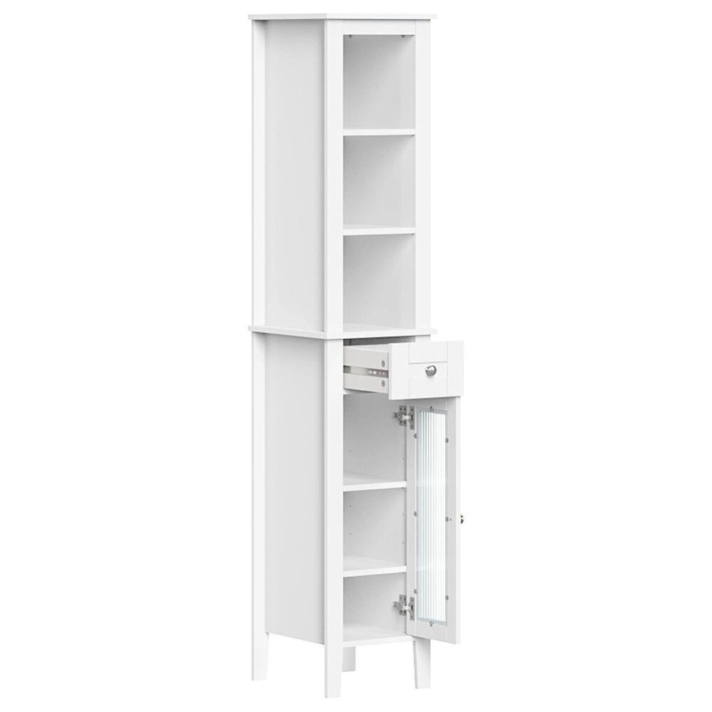 RiverRidge Home Prescott Tall Cabinet in White, , large
