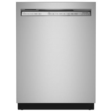 "KitchenAid 24"" Built-In Pocket Handle Dishwasher with 39 Decibel in Stainless Steel, , large"