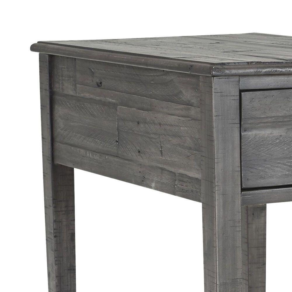 Signature Design by Ashley Borlofield Rectangular End Table in Dark Grey, , large