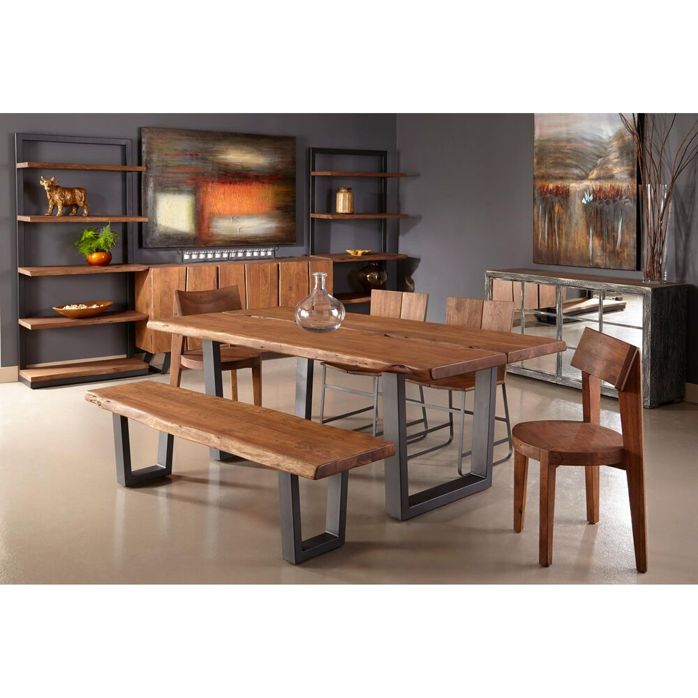 Shell Island Furniture Sequoia Dining Table in Sequoia Light Brown Acacia, , large