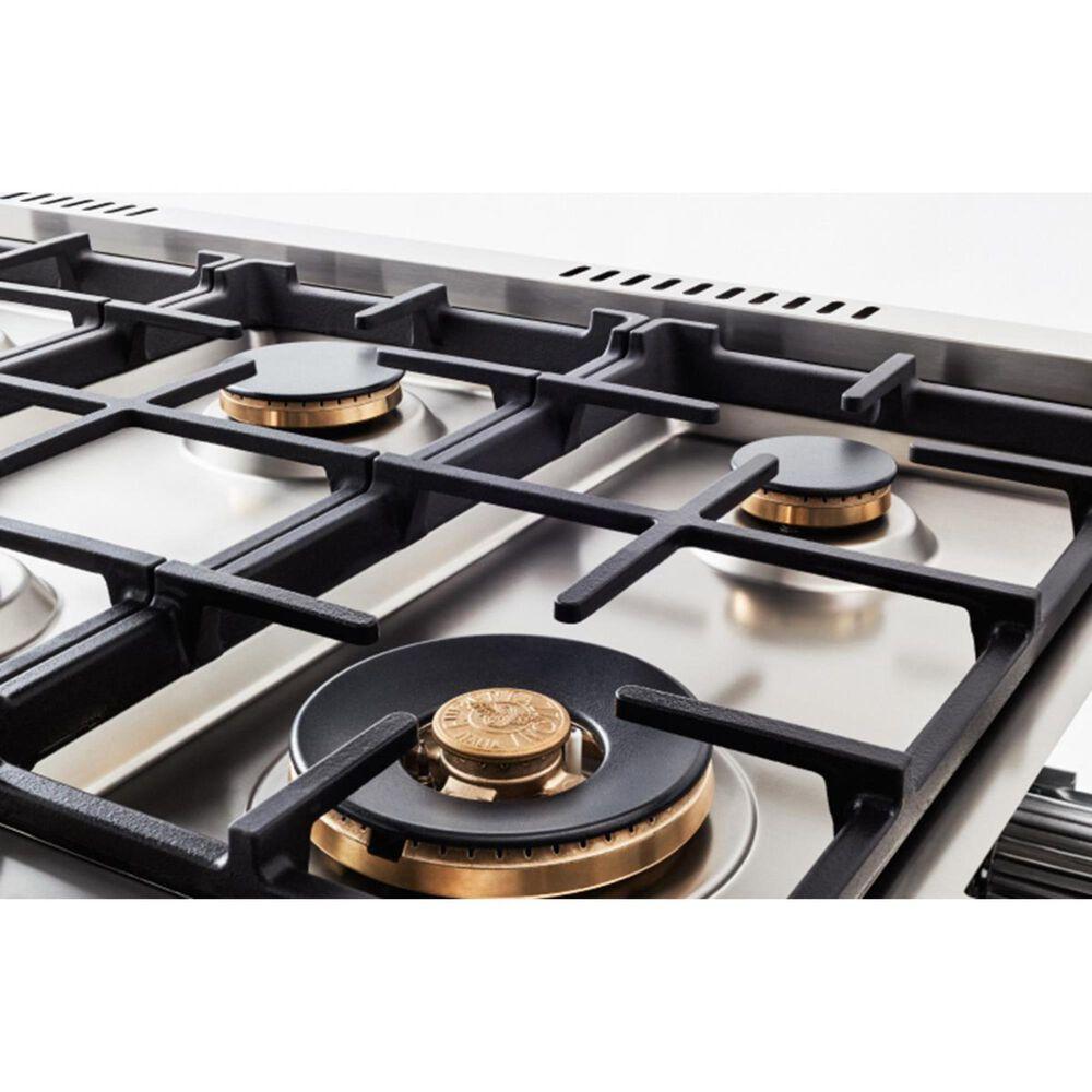 Bertazzoni 36 Inch Liquid Propane Gas Range in Stainless Steel, , large