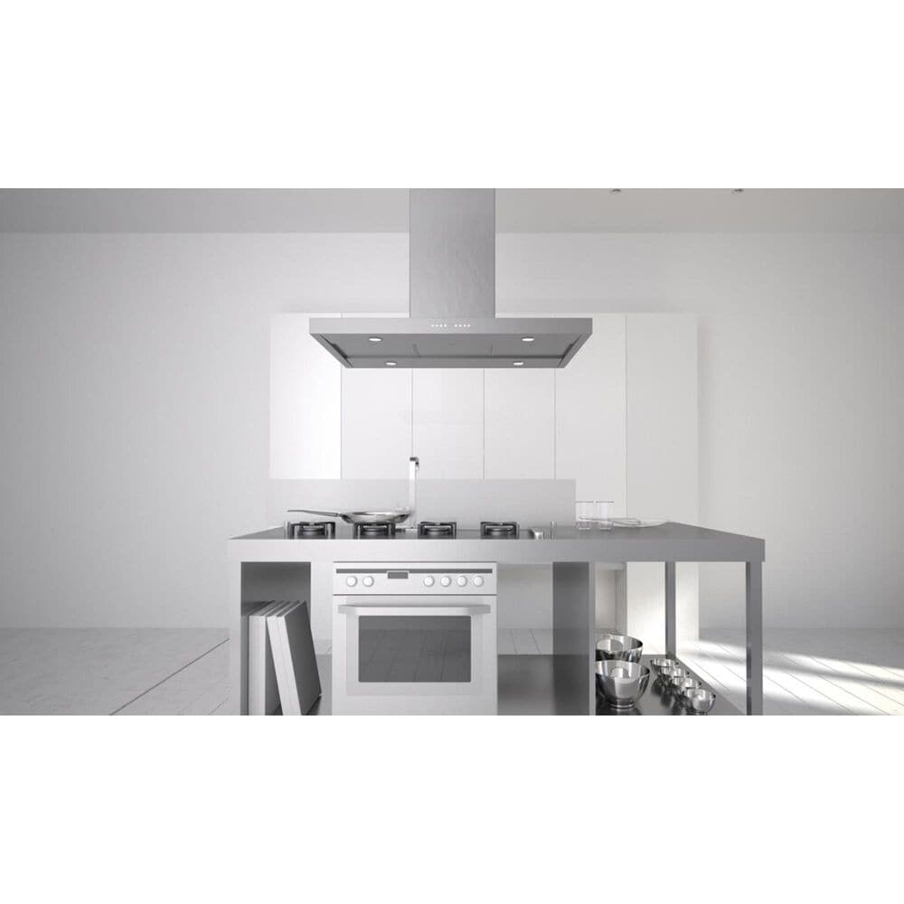 """Faber Bella 36"""" Island Hood in Stainless Steel, , large"""