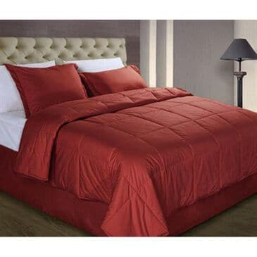 Epoch Hometex Cotton Loft Full/Queen Comforter in Scarlet, , large