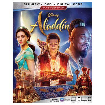 Aladdin Live Action [Blu-ray + DVD + Digital], , large