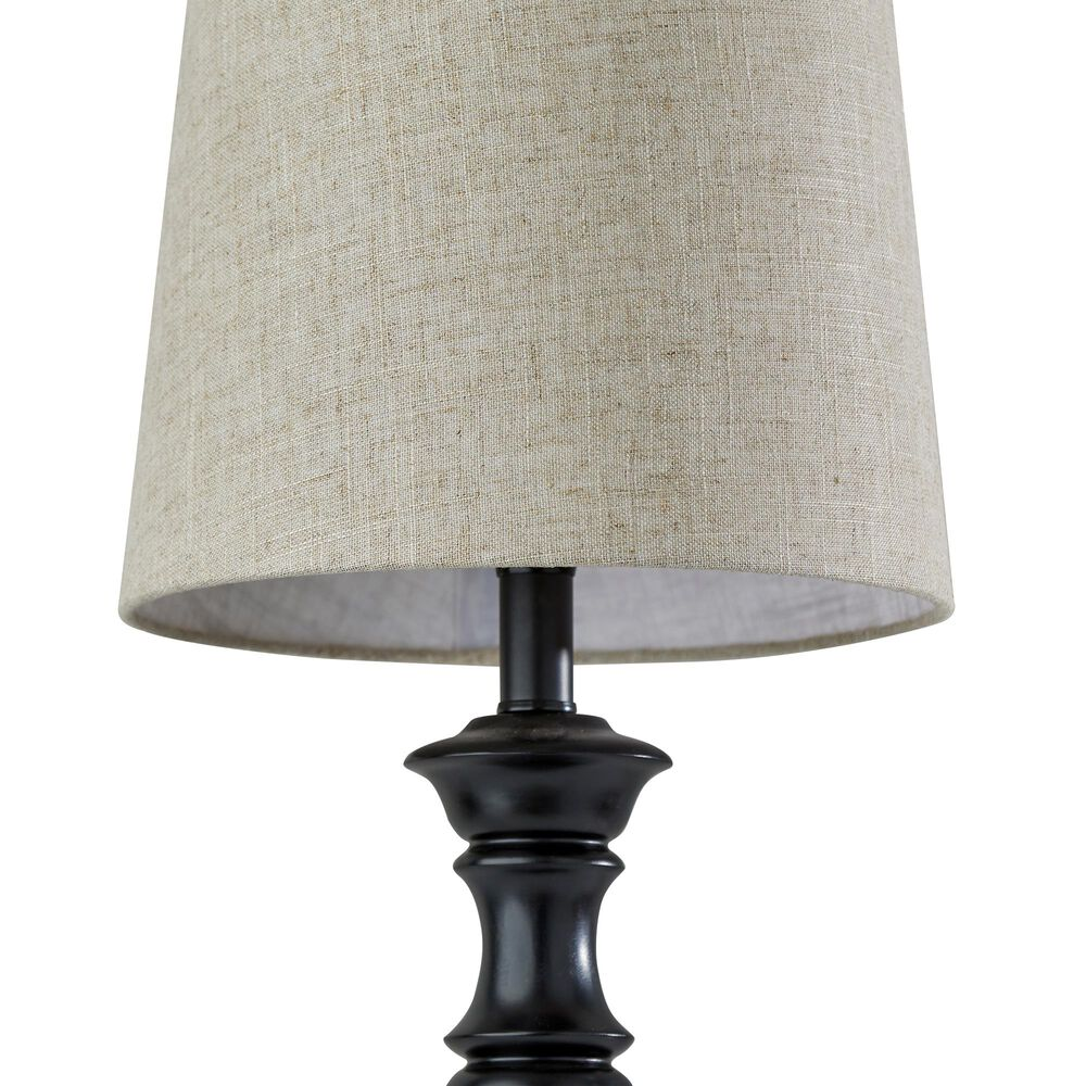 Adesso Robert 2-Piece Table Lamp Set in Black, , large