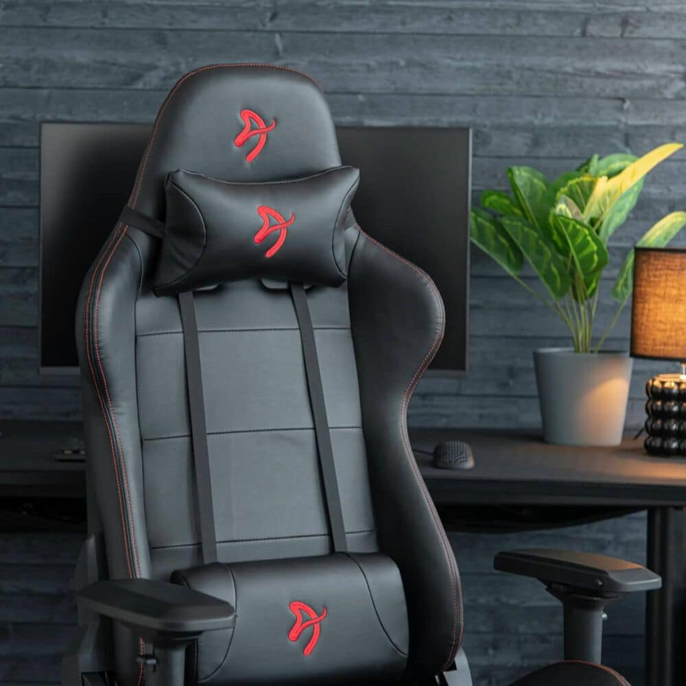 Arozzi Verona Signature PU Gaming Chair in Red, , large