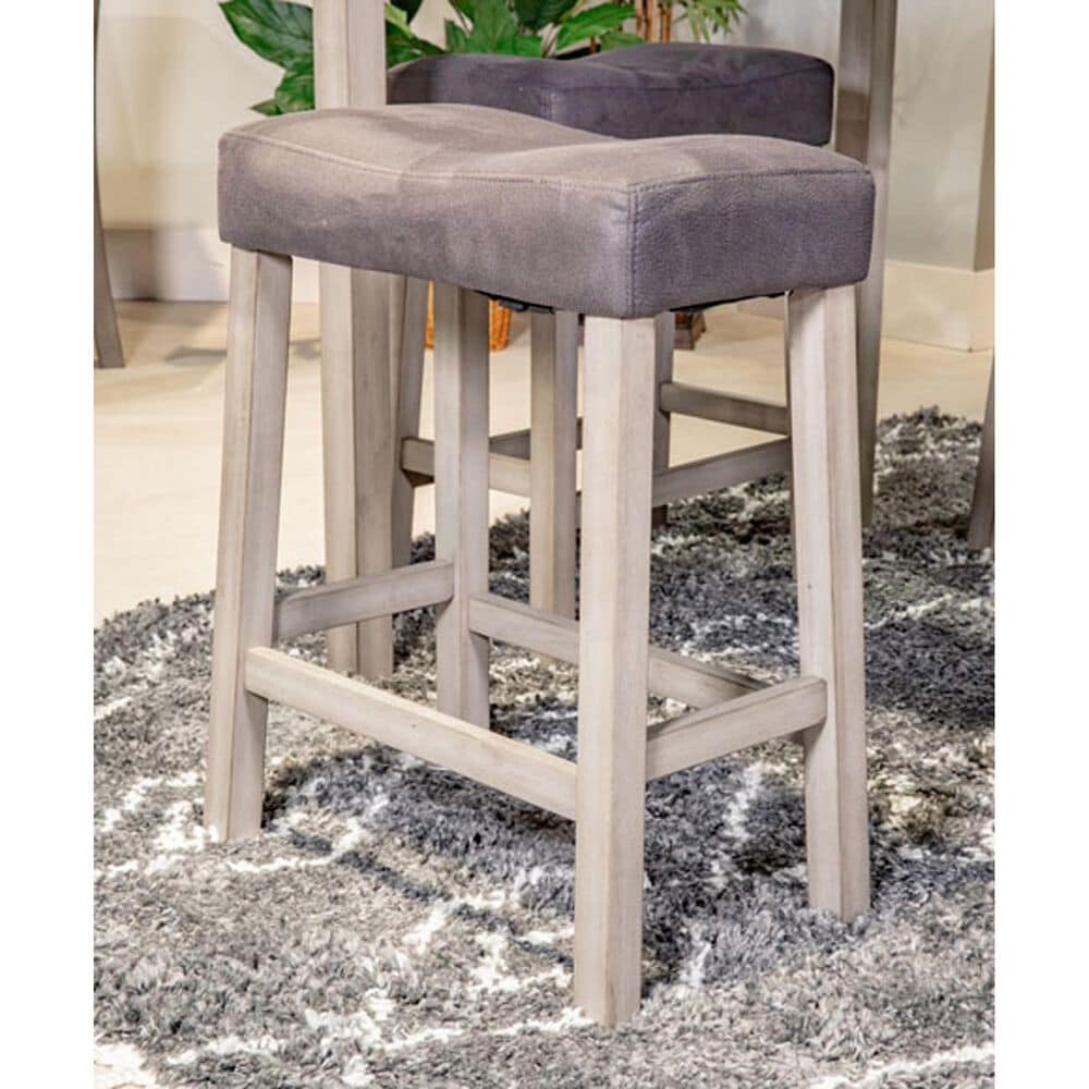 Signature Design by Ashley Loratti Square Counter Dining Set in Weathered Gray, , large