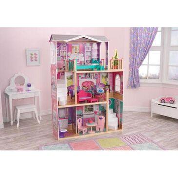 Kidkraft 18 in. Elegant Doll Manor with Furniture, , large