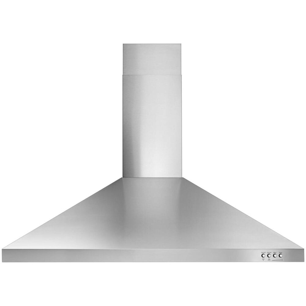 """Whirlpool 36"""" Contemporary Wall Mount Range Hood in Stainless Steel, , large"""