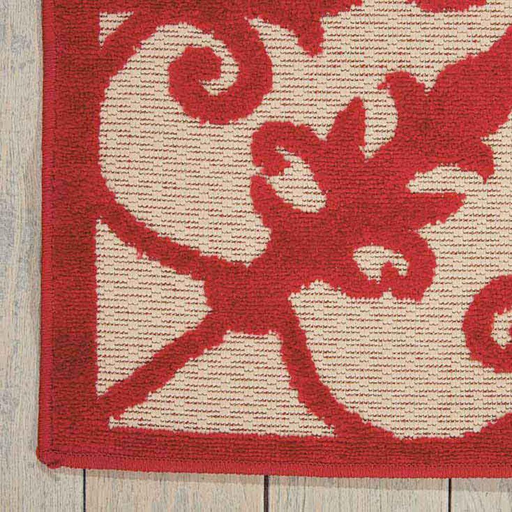 "Nourison Aloha ALH12 9'6"" x 13' Red Area Rug, , large"