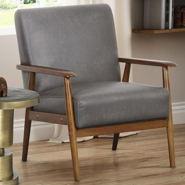 Accentric Approach Accentric Accents Accent Chair in Steel, , large