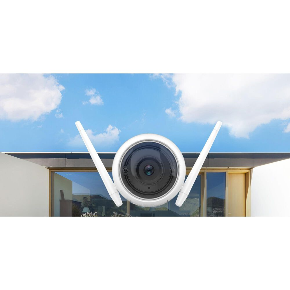 Ezviz C3WN Full HD Outdoor Smart Wi-Fi Camera in White, , large