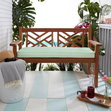 "Sorra Home Sunbrella 60"" x 19"" Bench Cushion in Canvas Spa, , large"