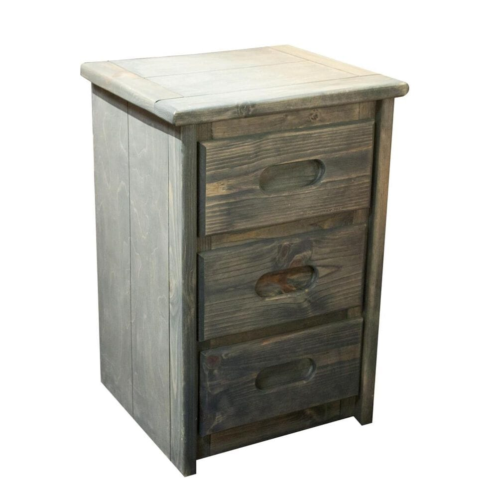 Timber Point Bunkhouse Nightstand in Driftwood, , large