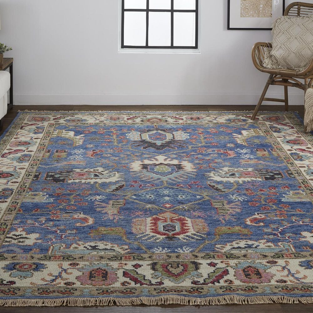 "Feizy Rugs Beall 8'6"" x 11'6"" Blue Area Rug, , large"