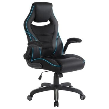 OSP Home Xeno Gaming Chair in Black and Blue, , large