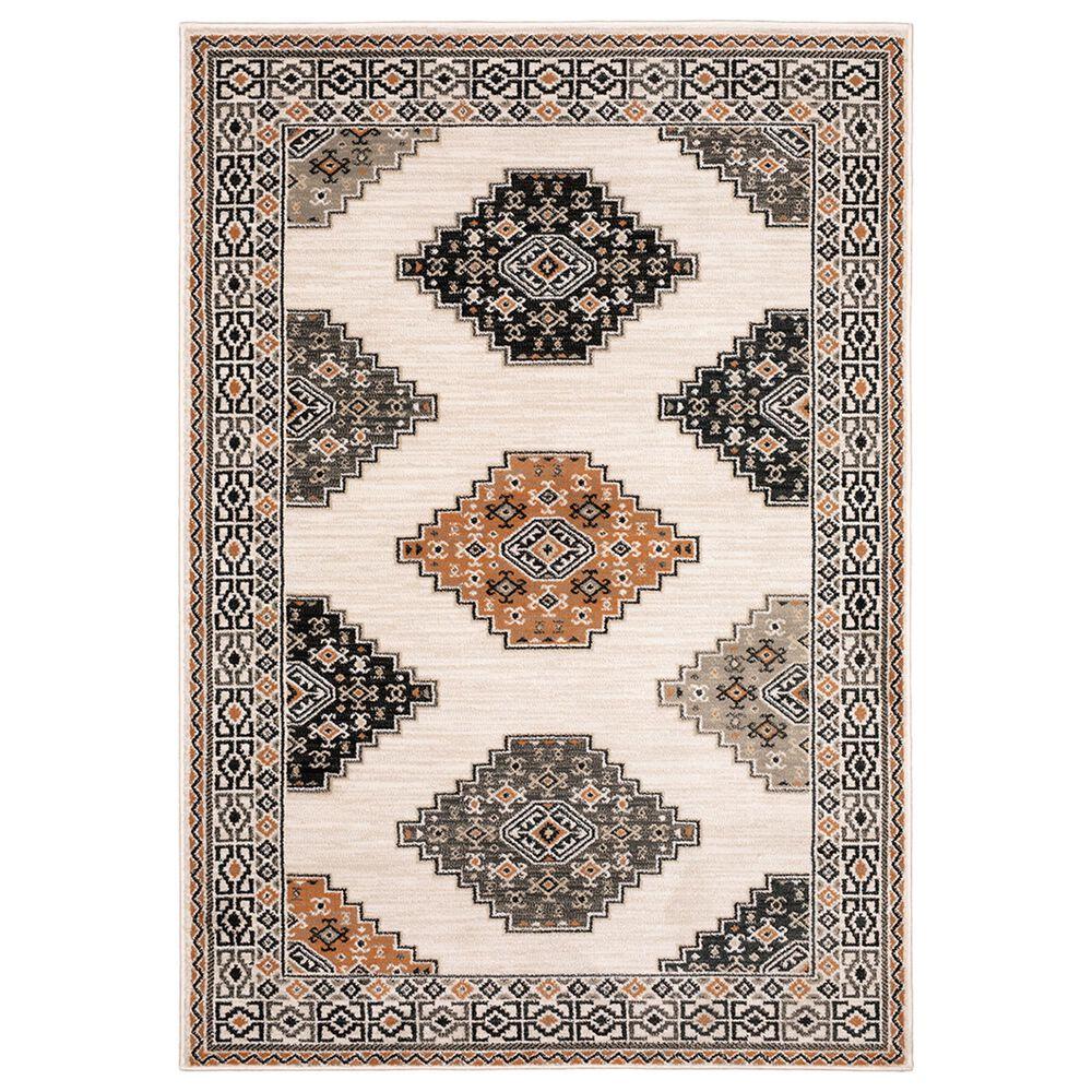 "Oriental Weavers Georgia Southwest 640A0 5""3"" x 7""3"" Ivory Area Rug, , large"