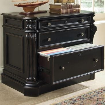Hooker Furniture Telluride Lateral File in Black, , large