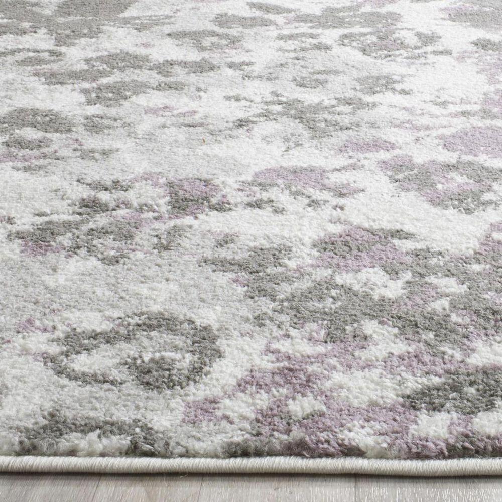 """Safavieh Adirondack ADR115L 5'1"""" x 7'6"""" Ivory and Purple Area Rug, , large"""