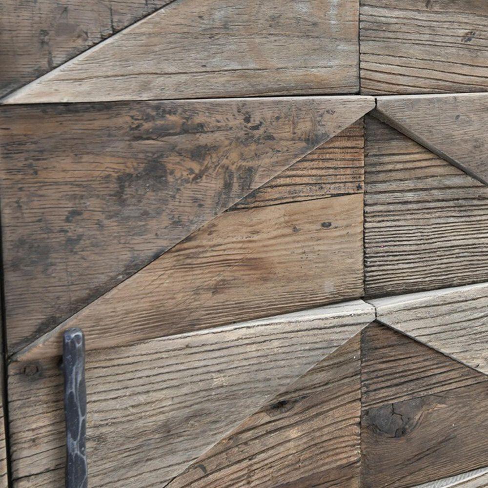 Classic Concepts Maverick 4-Door Sideboard in Brown, , large
