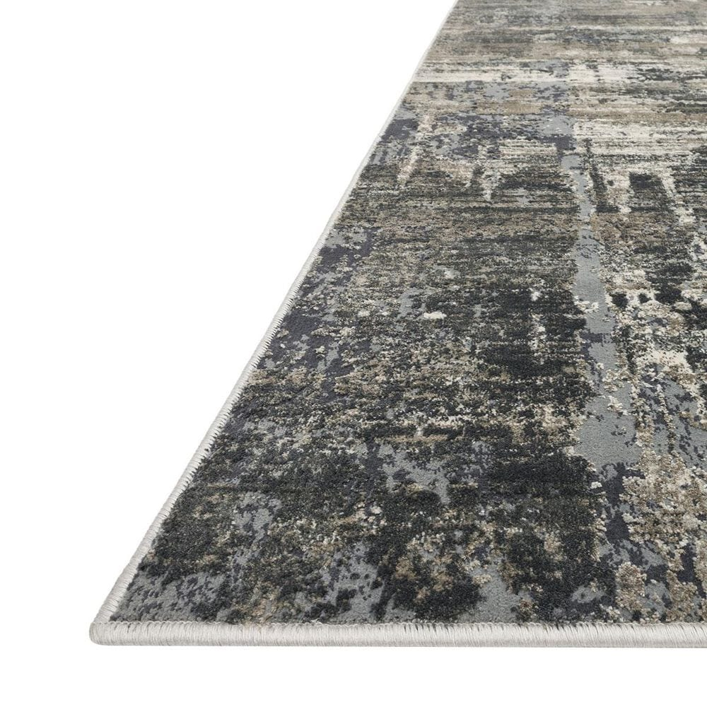 "Loloi Cascade CAS-03 5'3"" x 7'7"" Ivory and Charcoal Area Rug, , large"