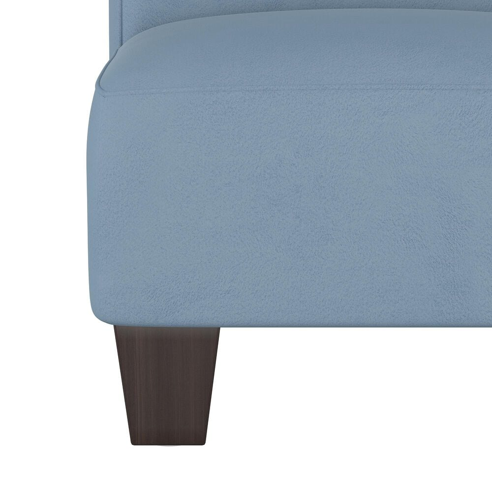 Skyline Furniture Kids Chair in Velvet Ocean, , large