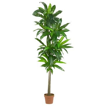 Nearly Natural Inc 6' Dracaena Silk Plant (Real Touch), , large