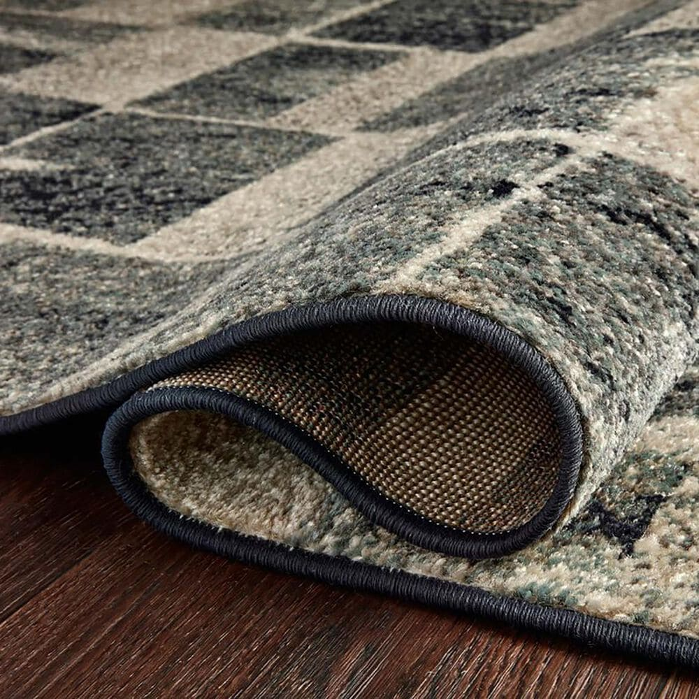 """Loloi II Bowery 6'7"""" x 9'7"""" Storm and Sand Area Rug, , large"""