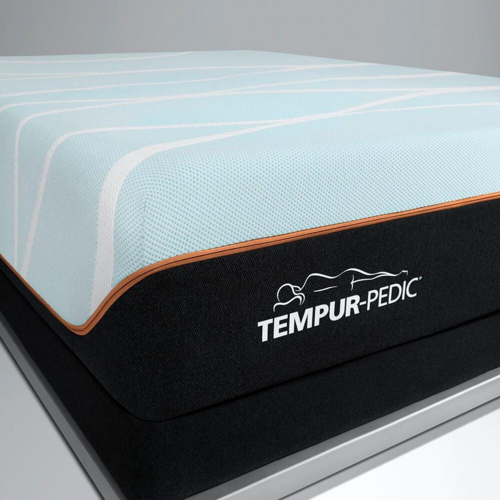 Tempur-Pedic TEMPUR-LUXEbreeze Firm Queen Mattress with Low Profile Box Spring, , large