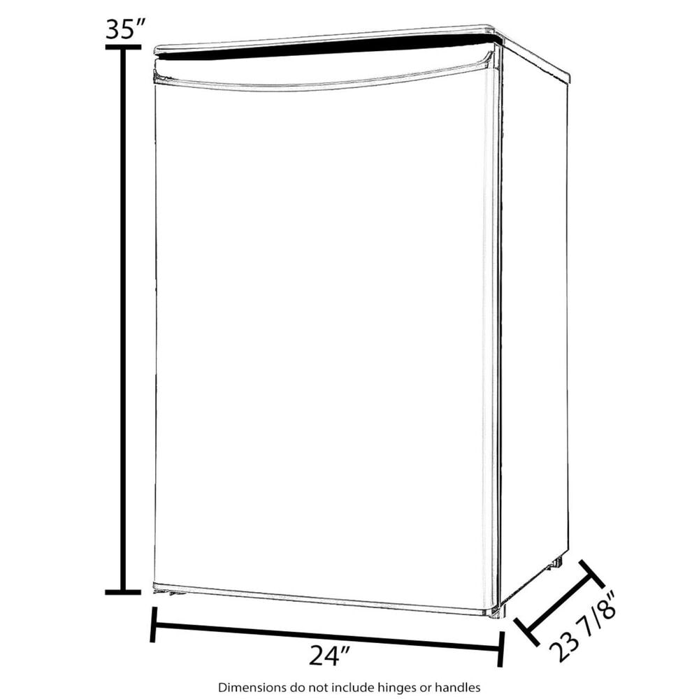 """Jenn-Air RISE 24"""" Left Swing Under Counter Glass Door Refrigerator in Stainless Steel , , large"""