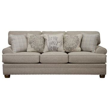 Hartsfield Farmington Stationary Sofa in Buff and Walnut, , large