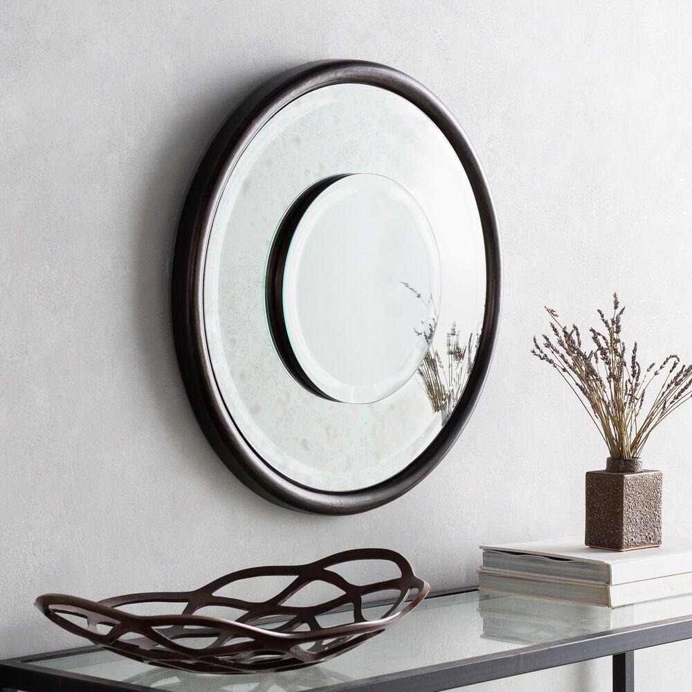 Surya Inc Turpin Wall Mirror in Silver, , large