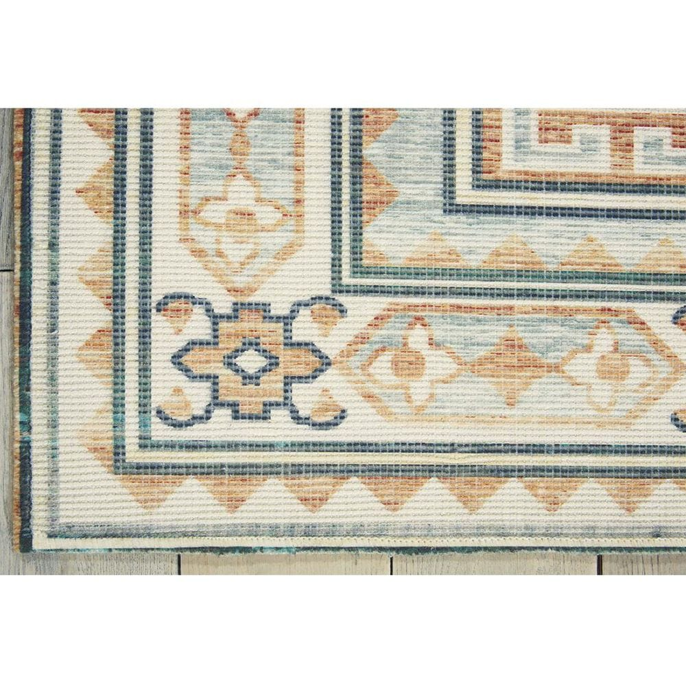 """Nourison Madera MAD04 7'10"""" x 10' Teal Green Area Rug, , large"""