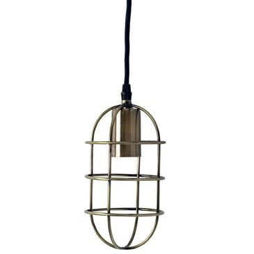 Mercana Hines I Pendant Light in Bronze, , large