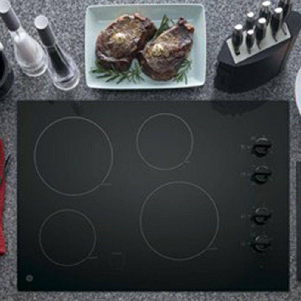 "GE Appliances 2-Piece Kitchen Bundle With a 30"" Electric Cooktop , , large"