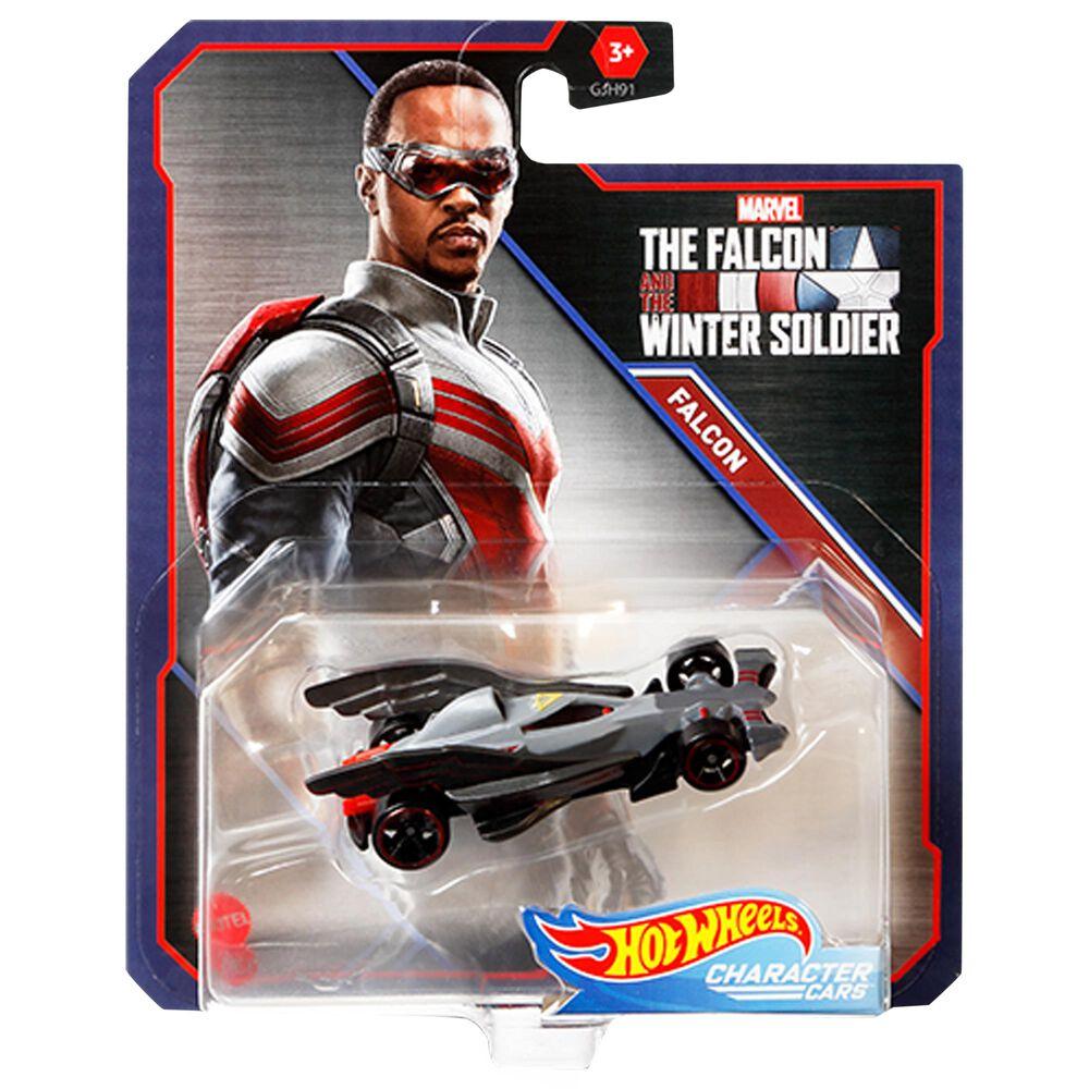 Mattel Hot Wheels Marvel Falcon Character Cars, , large
