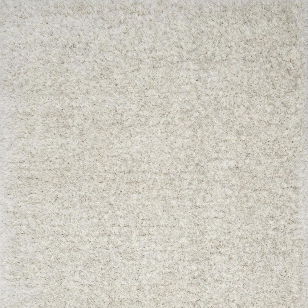 "Loloi Kayla Shag KAY-01 7'9"" x 9'9"" Light Grey Area Rug, , large"