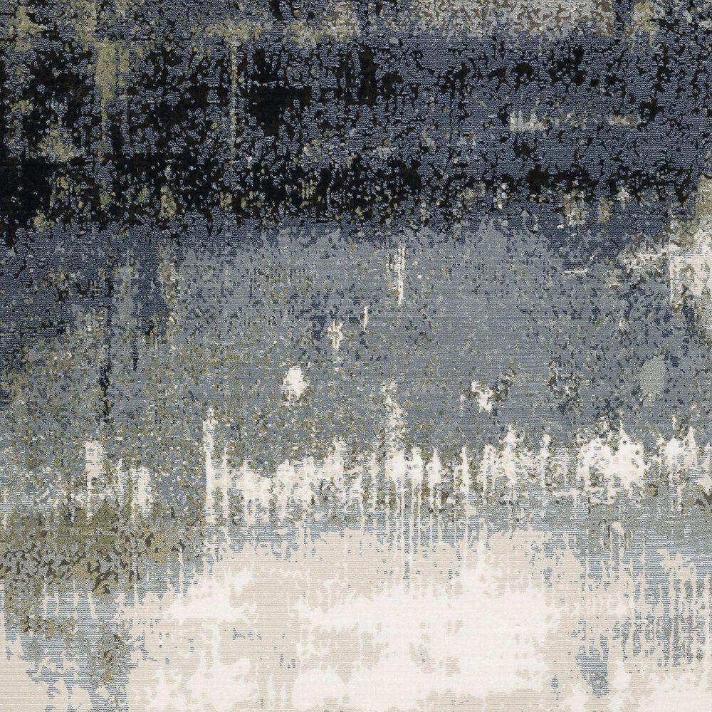 "Oriental Weavers Caravan Brush Up 3'3"" x 5' Blue and Green Area Rug, , large"